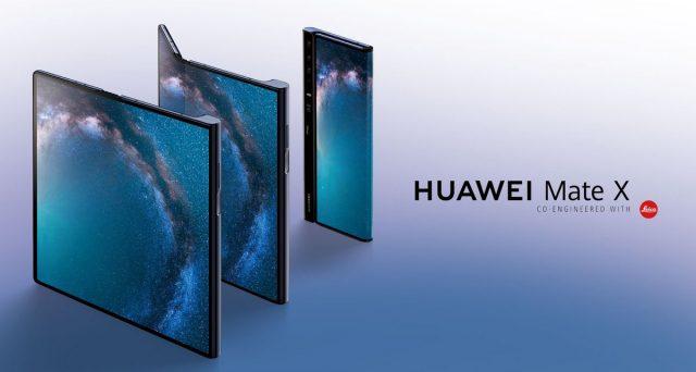 Ufficiale l'arrivo dello smartphone pieghevole targato Huawei, ecco il Mate X.
