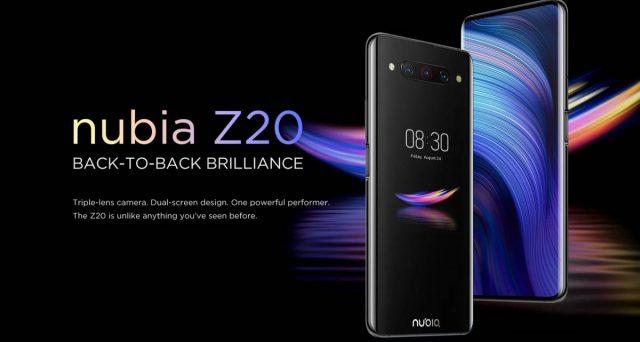 Nubia Z20 senza fotocamera anteriore e due display arriva anche in Europa