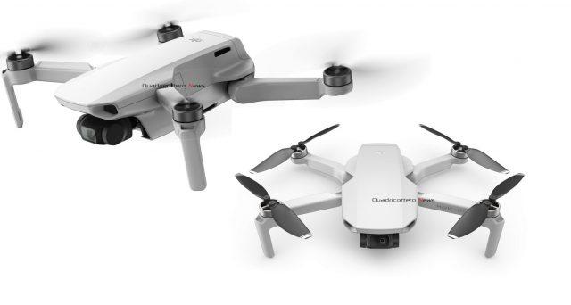 DJI Mavic Minim drone super leggero ed economico che non necessita di patentino