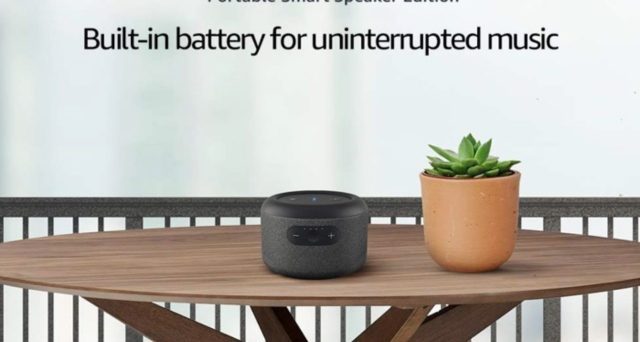 Nuovo Echo di Amazon con batteria ricaricabile, la trovata che smuove Alexa dal fisso.