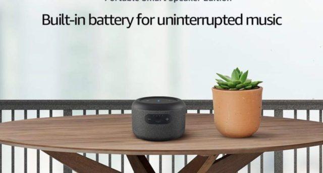 Amazon presenta Echo Input Portable Smart Speaker Edition, nuovo device con Alexa