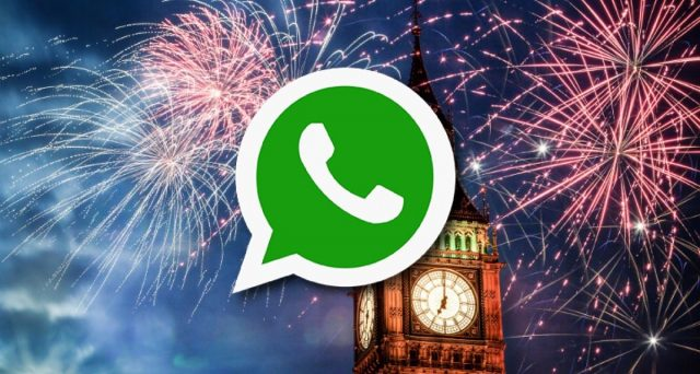 La classifiche frasi d'auguri su WhatsApp per Capodanno.