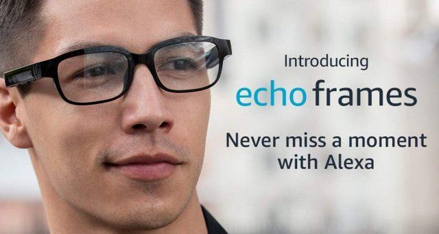 Amazon Echo Frames, occhiali intelligenti per Alexa