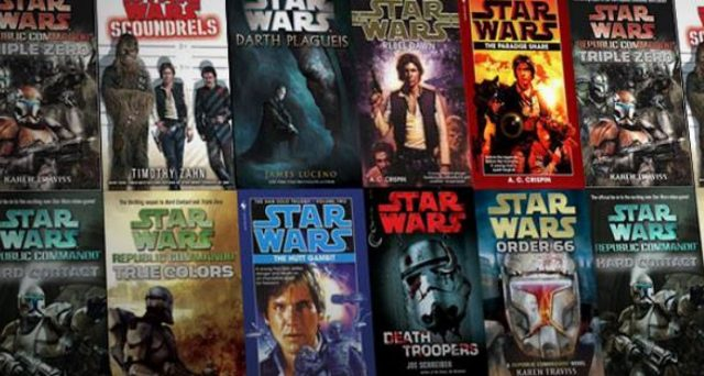 Scatenatevi in libreria con i libri della saga di Star Wars, ecco la lista completa di romanzi canonici.