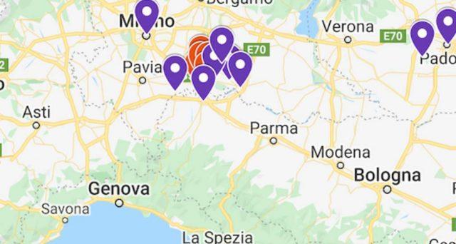 Il coronavirus non spaventa Waze e Google, ecco le mappe per destreggiarsi attorno ai comuni in quarantena.