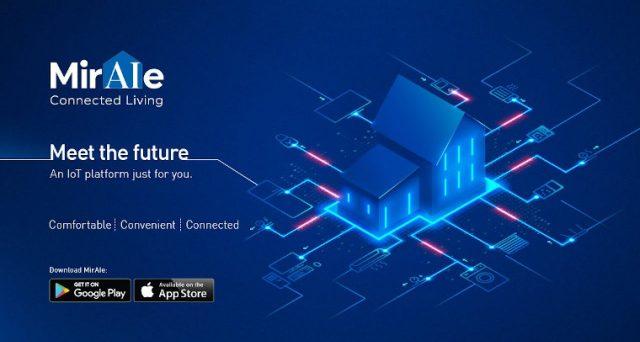 MirAle, smart home targata Panasonic compatibile con Alexa e Google Home