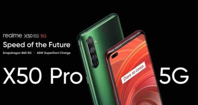 Arriva il Realme X50 Pro, top di gamma che sfida i grandi.