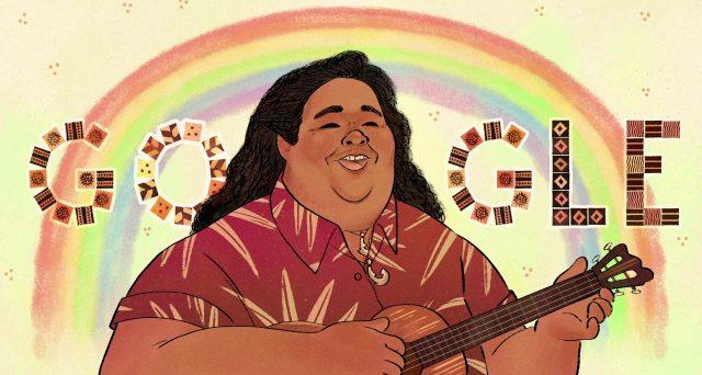 Oggi mercoledì 20 maggio Google omaggia con il suo Doodle Israel Kamakawiwoʻole. Non lo conoscete? Impossibile! La sua versione di Over the Raimbow è ormai diventata più famosa dell'originale. Ma perché celebrarlo oggi? Doodle di Google La risposta è molto semplice, oggi Israel Kamakawiwoʻole avrebbe compiuto 61 anni. E' dunque il suo compleanno, e Google […]