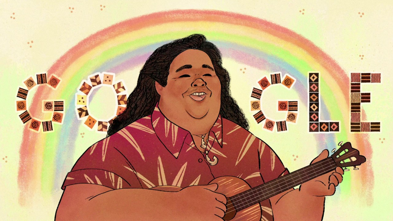 Google Doodle Dedicato A Israel KamakawiwoÊ»ole Chi E Il