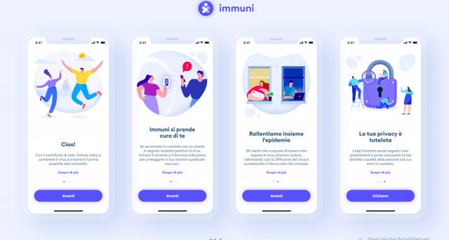 La lista degli smartphone idonei per il download di Immuni.