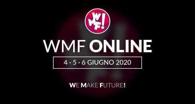 Appuntamento il 4, 5 e 6 giugno con il WMF Online, un MainStage che coinvolgerà diverse realtà che operano nel mondo dell'arte per un messaggio simbolico importante.