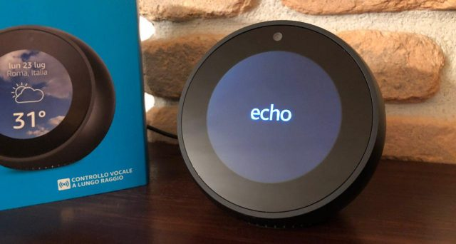 Tutti i device di Amazon con Alexa a bordo.