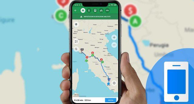 Un'app per spostarsi in bicicletta, ma non solo, ecco come funziona la piattaforma Maps.me.
