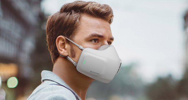 La mascherina tech targata LG, ecco in arrivo PuriCare.