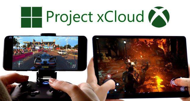 la lista dei giochi della nuova piattaforma mobile Project xCloud.