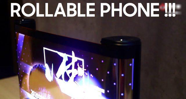 Arriva lo smartphone che si arrotola, ecco il display allungabile di Tcl.