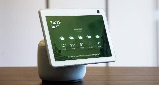 Nuovo dispositivo Echo sta per sbarcare anche in Italia a 249,99 euro.