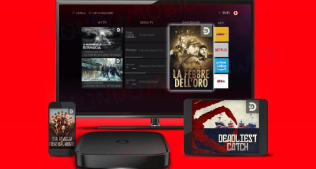 Nuovo box per Vodafone Tv, ecco caratteristiche e prezzo.