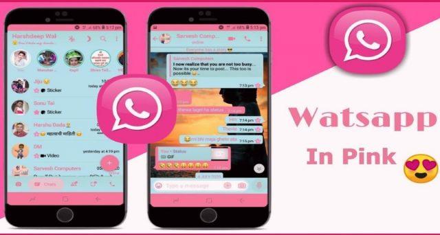 truffa WhatsApp pink