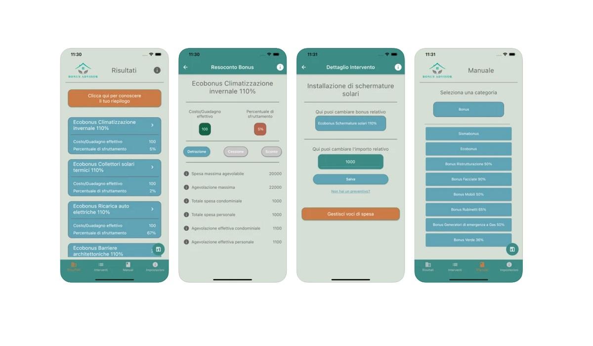 Bonus Casa: app Bonus Advisor