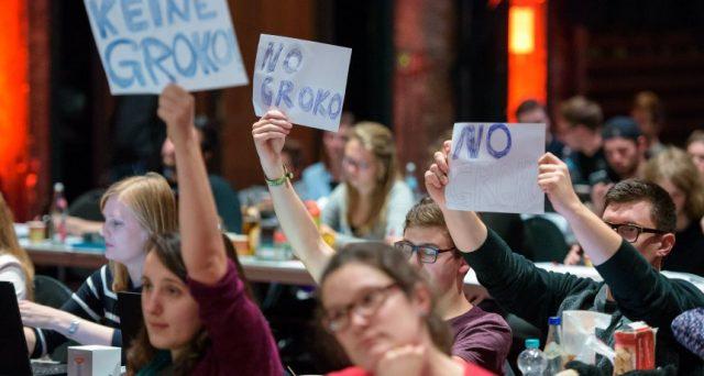 Rivolta a sinistra contro nuova Grosse Koalition