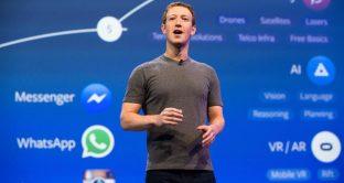 Il crollo di Facebook in borsa