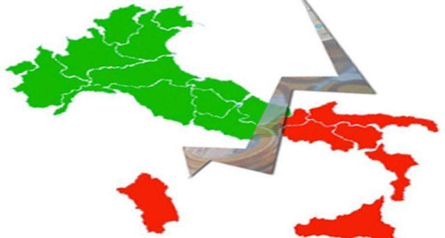 L'Italia divisa in due