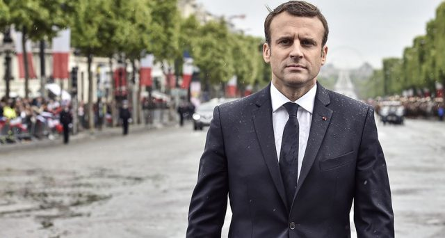 La solitudine al potere di Macron