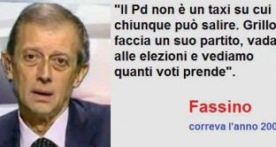 Fassino su Grillo