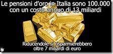 pensioni oro