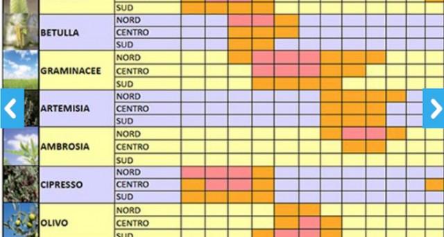 Calendario Pollini Allergie.Allergie Primaverili Ai Pollini Rimedi E Decalogo Per