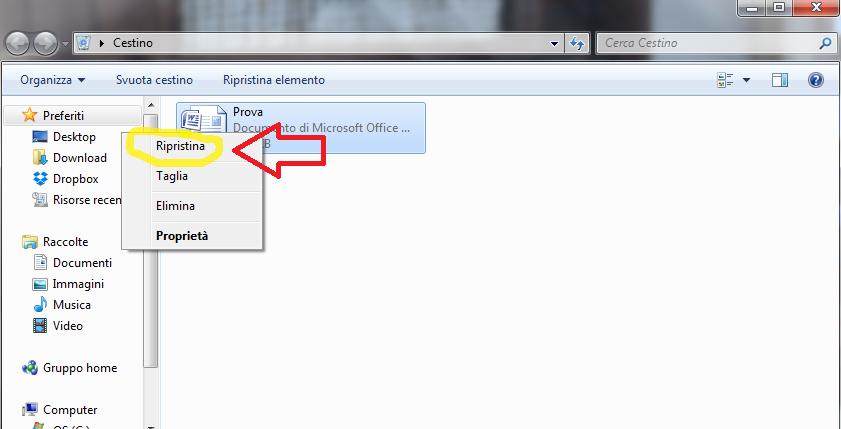 Recuperare File Eliminati Nel E Dal Cestino Su Windows