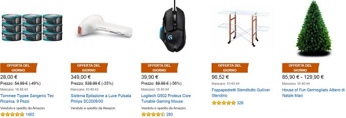 Black Friday 2015 su Amazon: fino a mezzanotte potrete