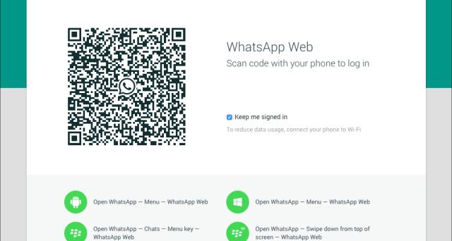 WhatsApp Web: come usarlo da computer, tablet e iPad partendo dai