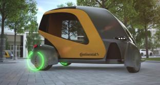 Auto senza pilota, Continental prepara il futuro con Bee, macchine connesse tra loro come api