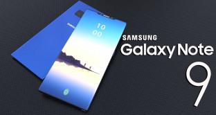Galaxy Note 9, render del phablet Samsung – Rumors scheda tecnica