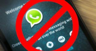 WhatsApp chiude, questi smartphone da oggi non potranno più usarlo