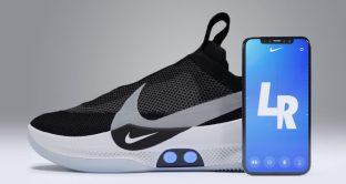 Nike lancia le scarpe di Ritorno al Futuro, si allacciano da sole e le regoli con un'app