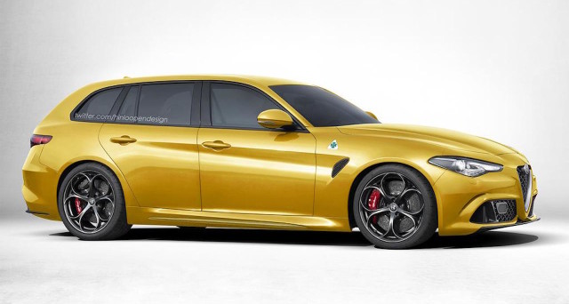 Alfa Romeo Giulia Station Wagon