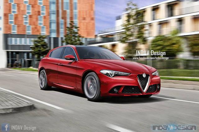 Nuova Alfa Romeo Giulietta: il render di INDAV Design