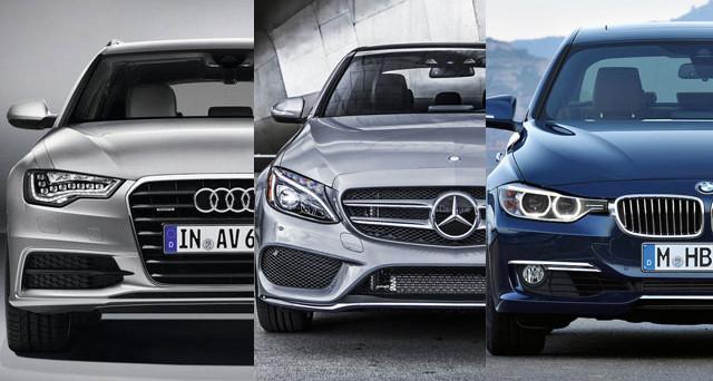 Audi, Bmw e Mercedes
