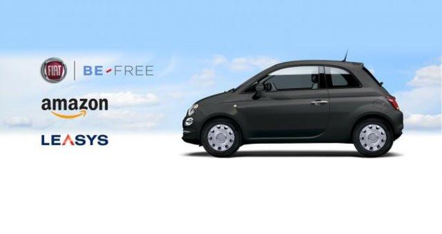 Fiat ci riprova con Amazon: 500 a noleggio lungo termine direttamente online