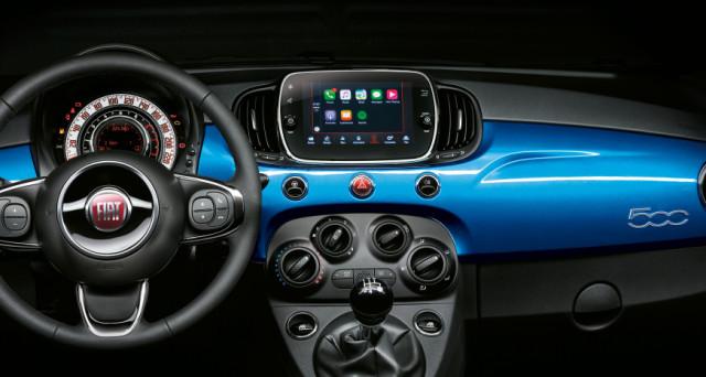 Fiat 500 Mirror Apple