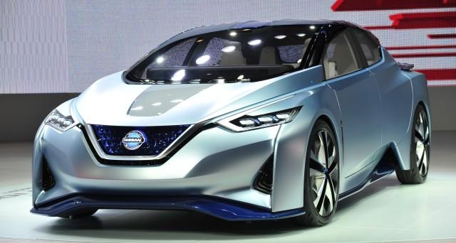 Nissan IDS Concept al 2015 Tokyo Motor Show: potrebbe essere questo l'aspetto della nuova generazione di Nissan Leaf 2017?
