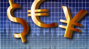 Yen Euro Dollaro