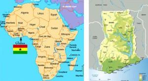 mappa Ghana