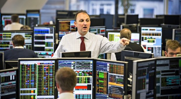 A City of London trading floor