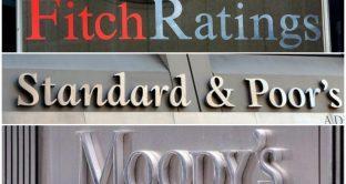 Rating Italia e Portogallo, stasera gli aggiornamenti di Moody's e S&P